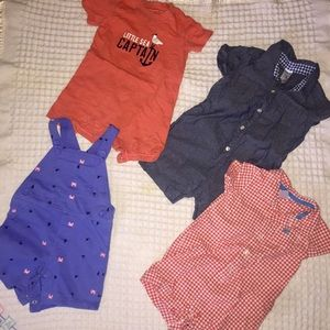 Carter's 12M Romper Bundle